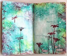 Ingrid's place: art journal pages *13arts*