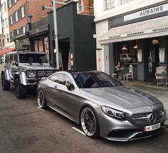 La magnifique Mercedes Coupé classe S 65 AMG , de ligne et design intérieur la plus belle Mercedes actuelle...