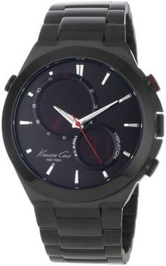 Men's Kenneth Cole Digital Contemporary Round Analog Watch