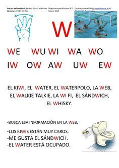 Cartilla de Lectura en Mayúsculas Spanish Grammar, Spanish 1, Pre Writing, Learning Spanish, First Grade, Acting, Kindergarten, Homeschool, Activities