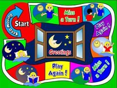 Greetings and names board game picture cards education greetings and names board game m4hsunfo