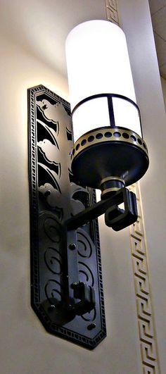 Art Deco Interior-wall-lamp |