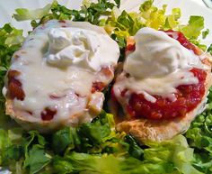 Pearl's Quick Chicken Dinner with Salsa & Cheese!  (Click on photo for recipe)