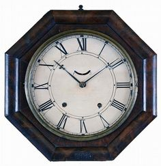 William L. Gilbert Clock Co., Winsted, Conn., 8 day, spring brass lev... Lot 364