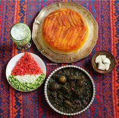 Ghorme Sabzi قورمه سبزی