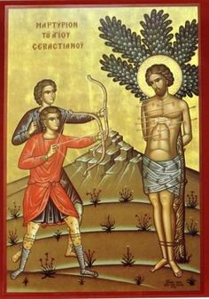 The story of Saint Sebastian the Martyr and his companions (Dec 18) (link)