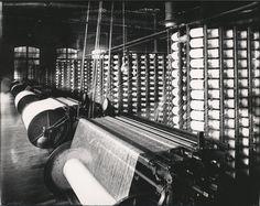 Wool Spinning Mills   Yarn spinning machinery], ca. 1910 -1930