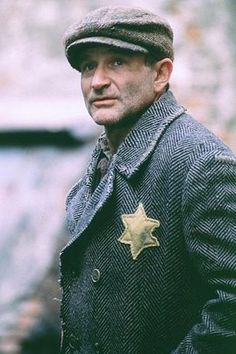 Robin Williams as Jakob the Liar.  Robin was so deep and so funny.  Vulnerable and kind.  God Bless Robin Williams.  A gift from God gone to soon. Debbie Dinneen :)