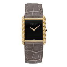 Pre-Owned Patek Philippe 18k Yellow Gold and Diamond Wristwatch, Ref. 4385
