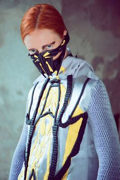 The Claudia Danna Fall/Winter 2013/2014 Collection is Sculptural trendhunter.com