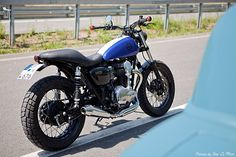 Kawasaki W 650 Scrambler by Schlachtwerk, Picture by Timo Le Mans Photography