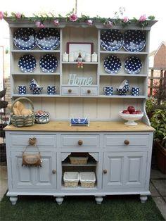 DERBYSHIRE COUNTRY CHIC - Kitchen Dressers