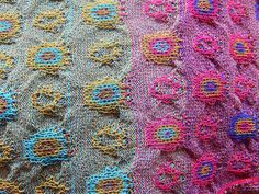 Catherine Andre Paris  this is knitted design but the idea could be applied to fabric surface design