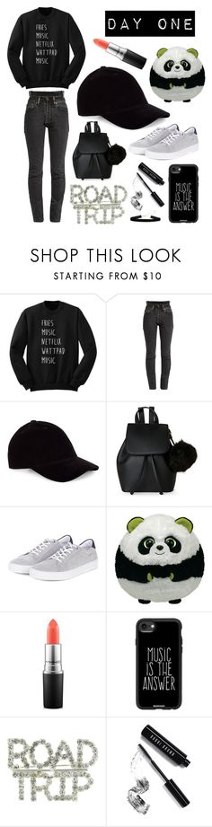 """""""Road Trip: Day One"""" by fedelinewiarta ❤ liked on Polyvore featuring Vetements, IMoshion, Barbour, Panda, MAC Cosmetics, Casetify and Bobbi Brown Cosmetics"""