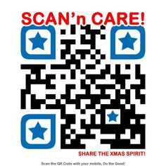 Show that you care, scan and share.
