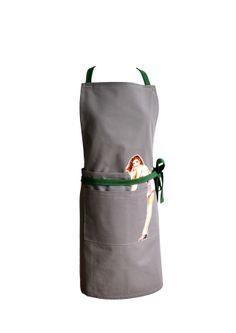 Beautiful mans apron, 100% french cotton. https://www.facebook.com/yellowpolka