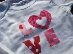 LOVE Baby Onsie