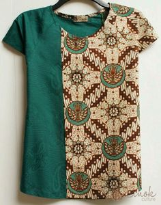 Blouse Batik, Batik Dress, Kurta Designs, Blouse Designs, Amarillis, Batik Kebaya, Sewing Blouses, Batik Fashion, Creation Couture