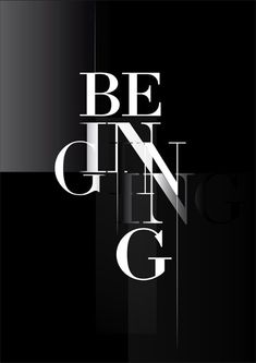 Being / Beginning - According to Hegel the Absolute is pure, mere or abstract being in the beginning. It is only implicitly notion, explicitly only unconscious being. It becomes conscious of itself or notional being only in the last stage.