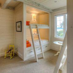 bunk build in
