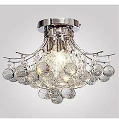 ALFRED Moderne KristallKronleuchter Mit Leuchten Modern - Deckenleuchte schlafzimmer modern