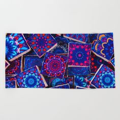 Buy Traditional Special Moroccan Colored Blue Stones - A2 Beach Towel by mr0frankenstein. Worldwide shipping available at Society6.com. Just one of millions of high quality products available.