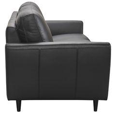 Saxon 3 Seat Sofa Madras Black