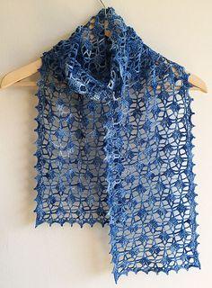 Ravelry: Tours Scarf pattern by Pierrot (Gosyo Co., Ltd)