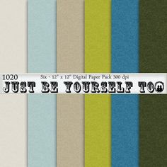 Instant Download 12 x 12 Inch Taupe Green and by JustBYourself2, $1.50 (1020)