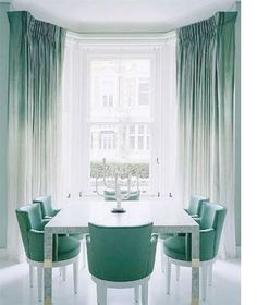 Decorating with mint green - The name alone is enough to conjure up images of freshness. This is one colour that definitely cools down hot interior spaces and add a new level of cool as mint Green provides a refreshing space that is welcomed in the hot summer months. http://www.home-dzine.co.za/decor/decor-mint.htm