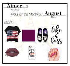 """""""Picks Of The Month #16"""" by iammrsclifford ❤ liked on Polyvore featuring Chicnova Fashion, Lime Crime and Casetify"""