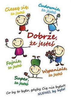 Learn Polish, Polish Language, Magic Day, Educational Crafts, Man Humor, Primary School, Social Skills, Dory, Classroom Decor