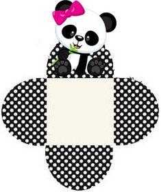 New Ideas Baby Shower Souvenirs Girl Birthdays Panda Themed Party, Panda Birthday Party, Panda Party, 1st Birthday Girls, Bolo Panda, Panda Baby Showers, Cute Animal Tattoos, Theme Mickey, Panda Cakes