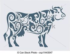 Find Cow Ornament Vector Cow Drawing Floral stock images in HD and millions of other royalty-free stock photos, illustrations and vectors in the Shutterstock collection. Paper Cutting, Cow Tattoo, Tattoo Eagle, Taurus Constellation Tattoo, Cow Ornaments, Cow Drawing, Cow Painting, Cow Art, Skin Art