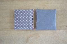 grey minimal scented sachets - lavender filled sachets - grey - lavender pillow - hosewarming gift - drawer sachets - fresh dryed lavender