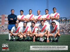 Rayo Vallecano, 1971.