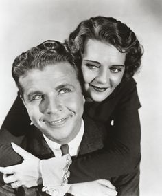 Dick Powell and Ruby Keeler.