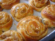 Caracóis doces - Sweet spirals