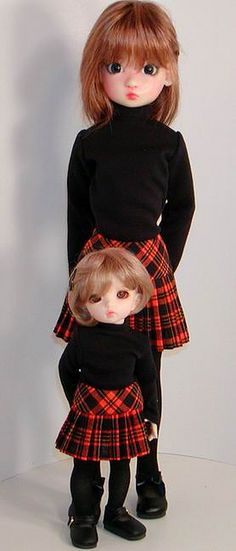 Annabella & LittleFee Back to School by Sweet Creations Doll Fashions,