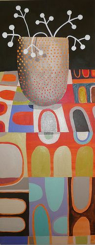artpropelled:    pot on table (by cate edwards)
