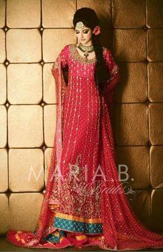 Maria b red dress vector