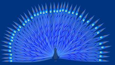 Me in Lila Park – DIY printables and downloads: free printable peacock card - Pfau: ausdruckbare Karte - freebie
