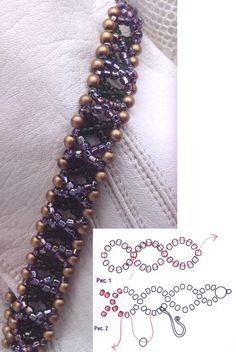 beaded bracelet and beads