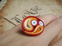 Paper Ring For Gift Girlfriend Gift Paper gift idea by SbirOtak