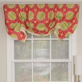 "Found it at Wayfair - Canne Handkerchief 50"" Curtain Valance"