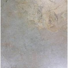 Kitchen, laundry, and bathrooms floors - Style Selections x Camelot Gold Glazed Porcelain Floor Tile - laid in a staggered pattern Ceramic Floor Tiles, Wall Tiles, Porcelain Floor, Tile Floor, Slate Tiles, Lowes Tile, Outdoor Flooring, Lowes Home Improvements, Bathroom Flooring