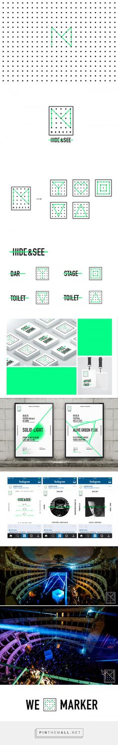 Marker Events 2015 on Behance - created via https://pinthemall.net