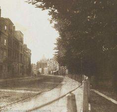 An empty Oxford Street c1840