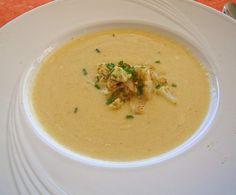 Blumenkohl-Creme-Suppe mit Safran