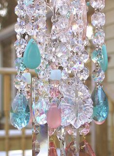 The Beach Antique Crystal Wind Chime